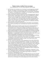 wmovoorstel pvda 2005.pdf - PvdA Rotterdam