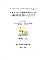 quality assurance project plan (qapp) - National Atmospheric ...