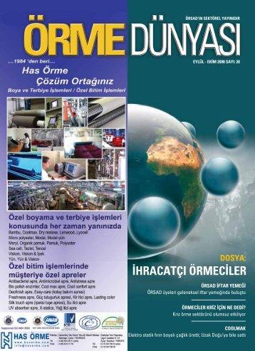 eylül-ekim - Örme Sanayicileri Derneği