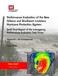 Performance Evaluation of the New Orleans and Southeast ...