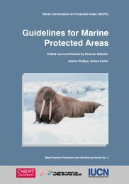 Kelleher, G. (1999). Guidelines for Marine Protected Areas - IUCN
