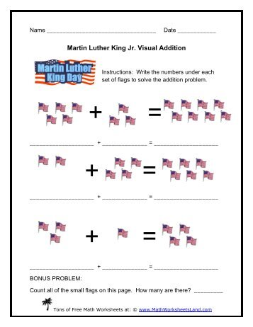 martin luther king jr equivalent expressions math worksheets land. Black Bedroom Furniture Sets. Home Design Ideas