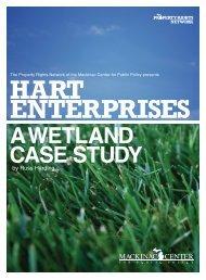 Hart Enterprises: A Wetland Case Study - Mackinac Center