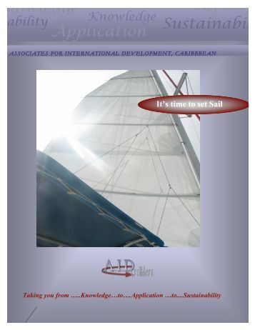 to . .sustainability… - Associates for International Development