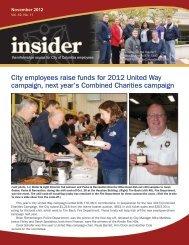 November 2012 - City of Columbia, Missouri