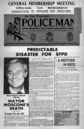 December 1978 - San Francisco Police Officers Association