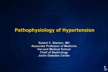 Pathophysiology of Hypertension - Hospital Privado