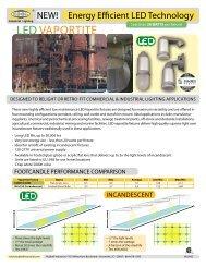 LED Vaportite Flyer - Hubbell Industrial Lighting