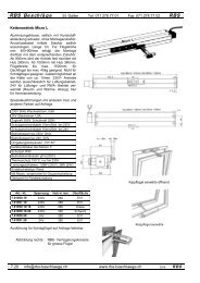 Kettenantriebe - Rbs-beschlaege.ch