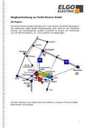 Anfahrts-PDF - ELGO Electric GmbH