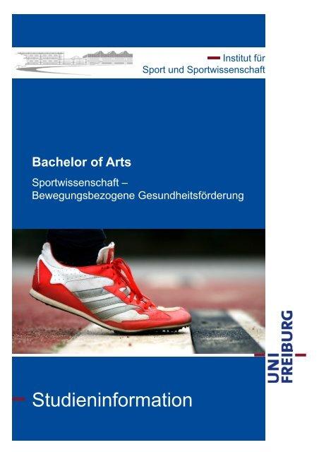 Studieninformation - Institut für Sport und Sportwissenschaft - Albert ...