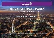 NOVA GODINA • PARIZ - Wayout