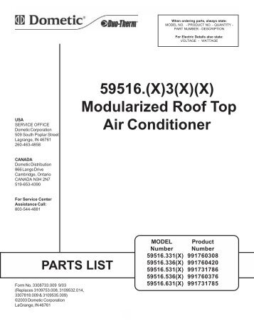 Duotherm magazines dometic duotherm brisk air conditioner parts list rv owners publicscrutiny Choice Image