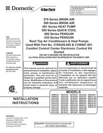 duotherm magazines rh yumpu com Duo Therm Air Conditioner Wiring Diagram Duo Therm RV AC Wiring DIA