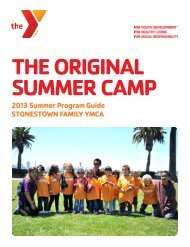 dAY CAMP - YMCA of San Francisco