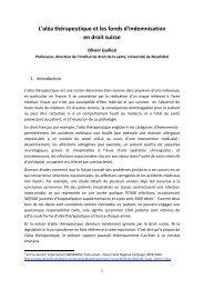 Olivier Guillod, Professeur à l'Université de Neuchâtel - Grerca