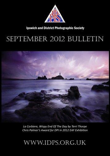 September 2012 - Ipswich & DPS