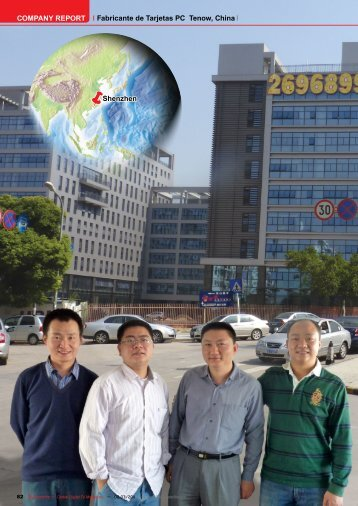 COMPANY REPORT Ã«Shenzhen Fabricante de Tarjetas PC Tenow ...