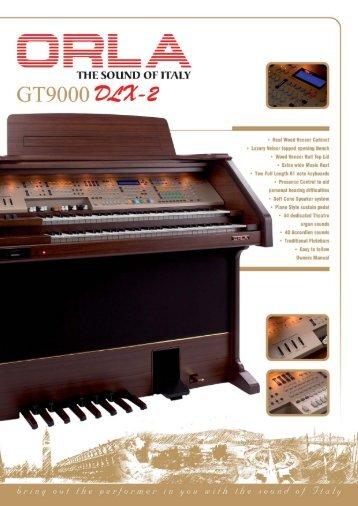 GT9000 DLX-2 Brochure - ORLA Direct