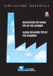 decantatore per fanghi tipo rc per scrubber sludge decanters type rc ...