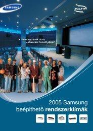 SamsungFree Joint multi split és kereskedelmi átfogó klíma ...