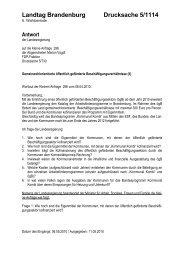 Kleine Anfrage - Marion Vogdt MdL