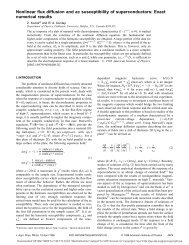 Nonlinear flux diffusion and ac susceptibility of superconductors ...