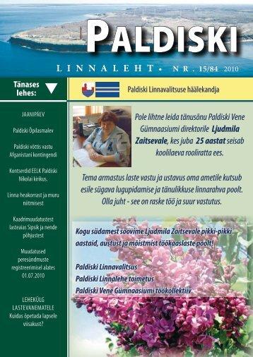 15/84 18.06.2010 - Paldiski