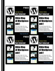 Tutorial WordPress (PDF Download) - Blog Staff UI