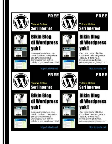 Tutorial WordPress (PDF Download) - Blog Staff UI