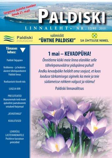 12/81 07.05.2010 - Paldiski Linnavalitsus