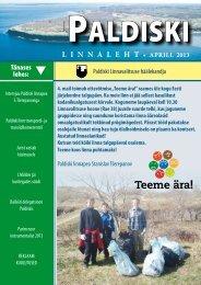 4/13 30.04.2013 - Paldiski Linnavalitsus