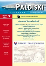 Värske number 08.07.2013 - Paldiski Linnavalitsus