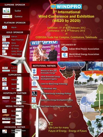 3rd WE20 by 2020 - Year 2012 Brochure - Indian Wind Power ...