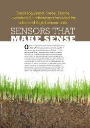 Sensors that make sense - Sercel