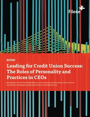 Download the Full Report - Filene Research Institute