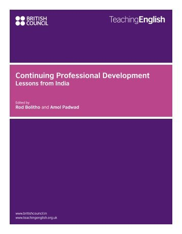 CPD Lessons book