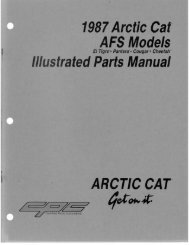 Illustrated Parts Manual - Vintage Snow