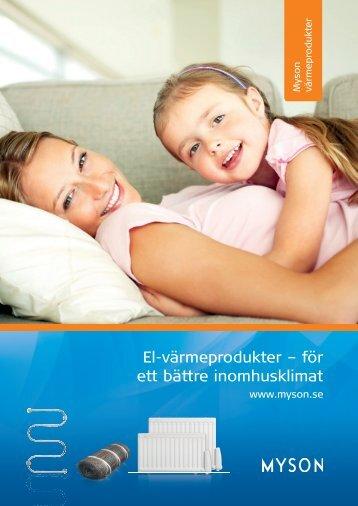 El-värmeprodukter – för ett bättre inomhusklimat - Gelia