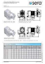 ansteuerbare Magnet-Membranpumpe C204.1 - Seybert & Rahier ...