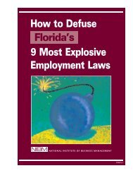 How to Defuse 10 Most Explosive Employment Laws How to Defuse ...