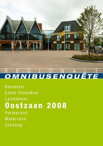 Omnibusenquête Oostzaan - Gemeente Purmerend