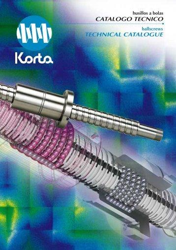 catalogo tecnico technical catalogue - Romani Components