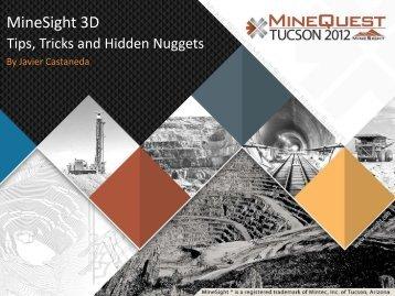 MineSight 3D