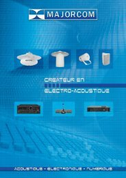 Catalogue Majorcom f.. - Accueil de l'ancien site