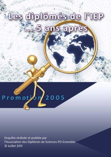 Promo 2005 - L'Etudiant