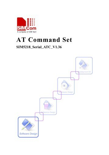 this SIM5218 AT command manual - Cooking Hacks