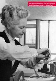 Flora Wiechmann Savioli. Arte, vita e memoria Giornate di studio ...