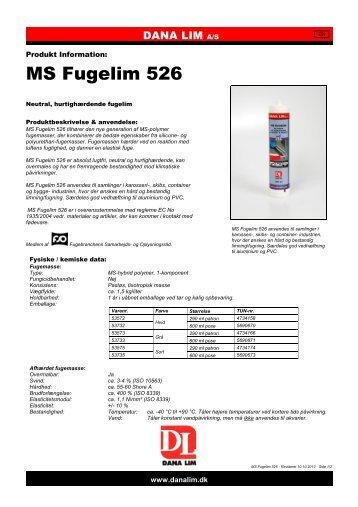 MS Fugelim 526 - Dana Lim A/S