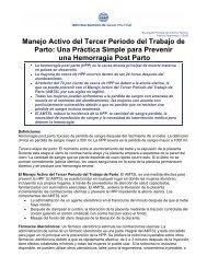 Hemorragia Post Parto - Reeme.arizona.edu